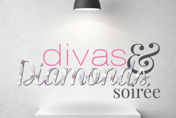 Divas and Diamonds Soiree Logo 2015