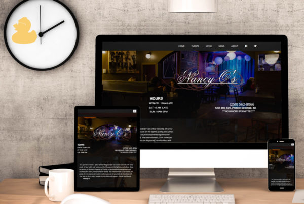 Nancy O's Web Design 2015