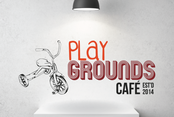 Play Grounds Cafe Logo Design