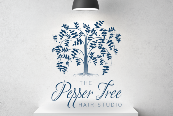 The Pepper Tree Hair Studio Logo Design