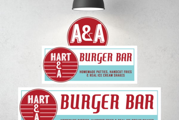 Hart A&A Burger Bar Signage