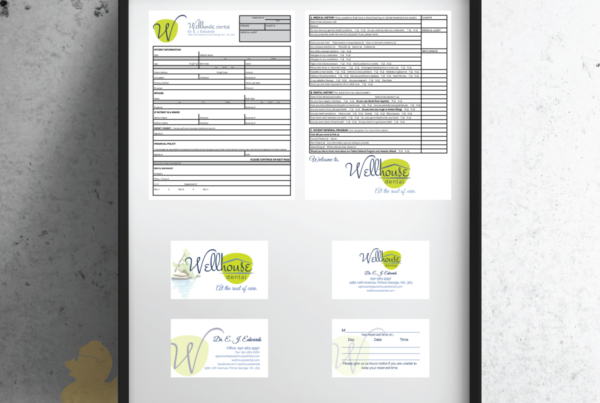 Wellhouse Business Cards and Form 2015